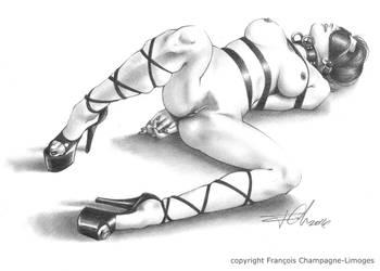 Nude II by FChampagne-Limoges