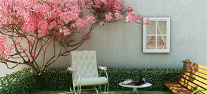 Garden - 3d Exterior by ptcunha