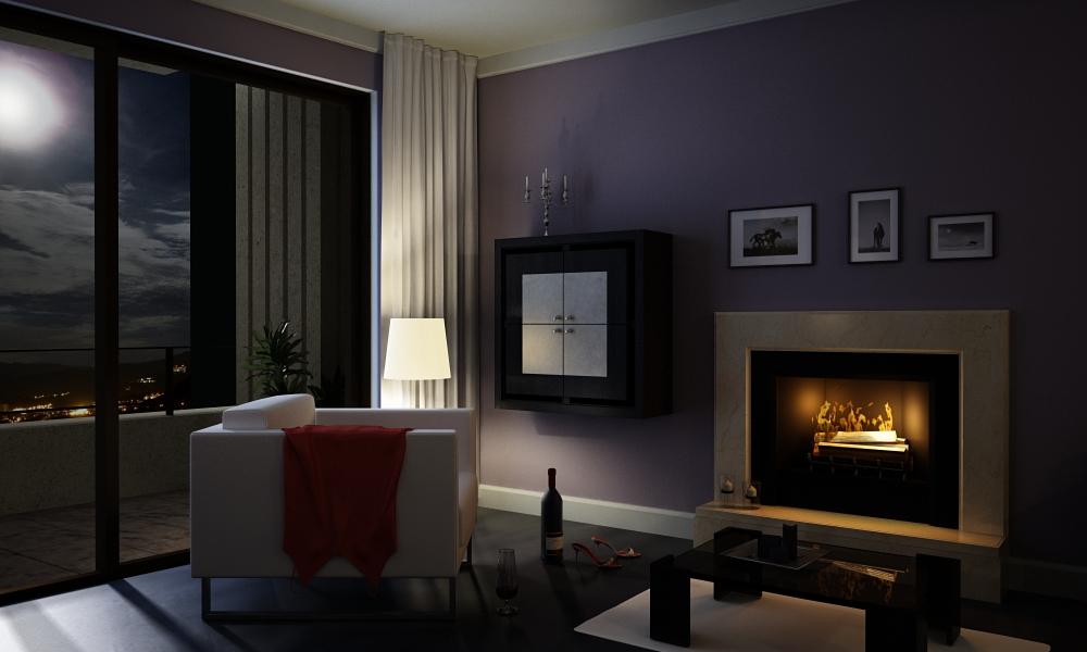 Night - Living Room by ptcunha