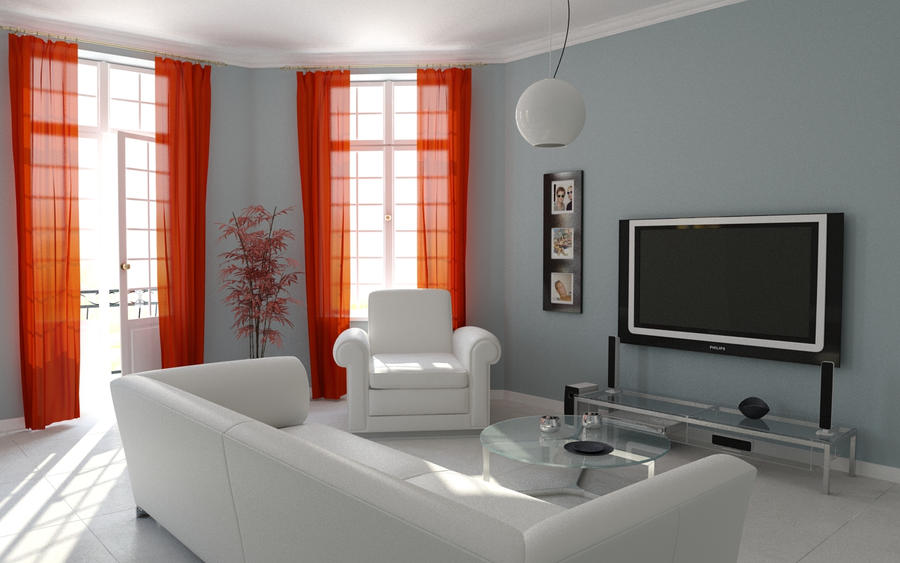 Living Room :: 3d Design
