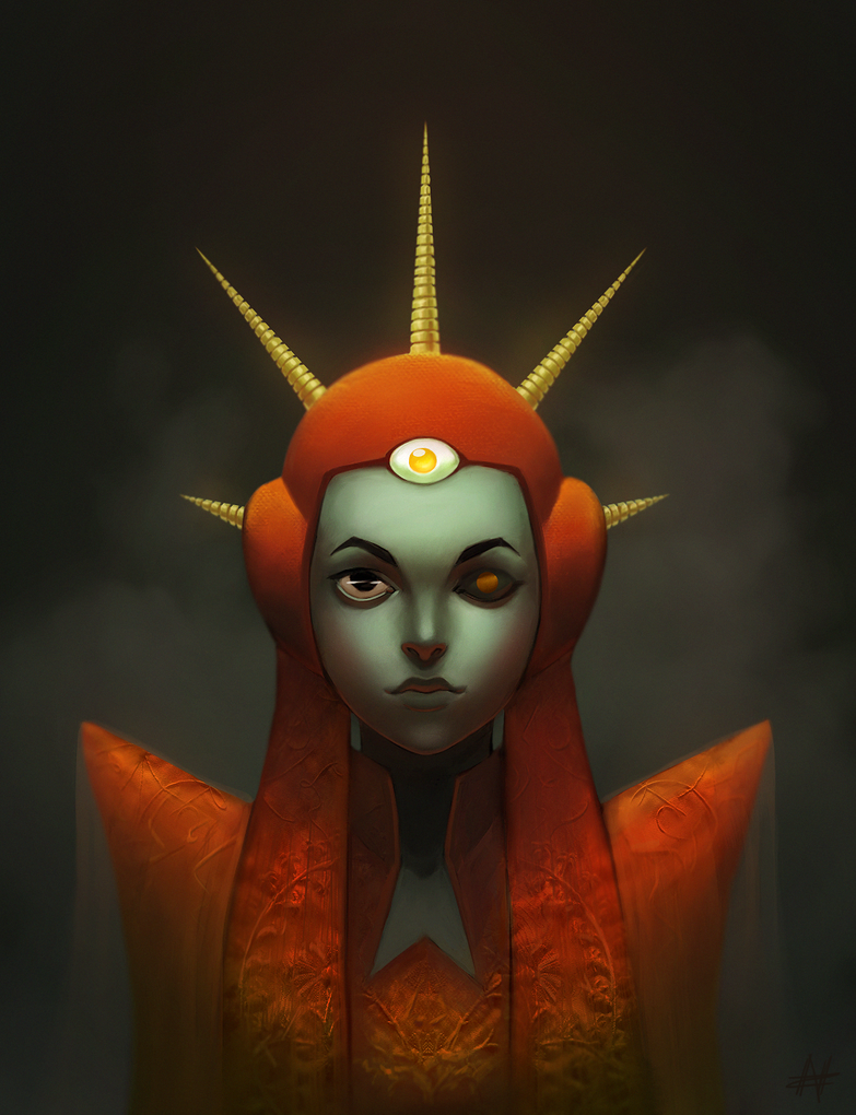 The Red Prophet by Yzu-chan