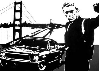 Steve McQueen by JoeBlack1978
