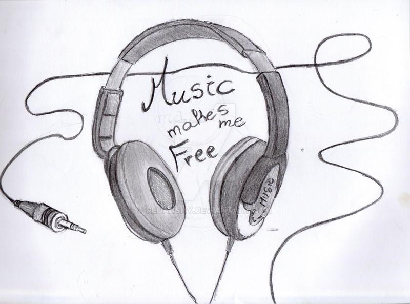 Music is my life by Redanshy on DeviantArt