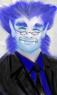 Me as Beast for a facebook by jparker2001