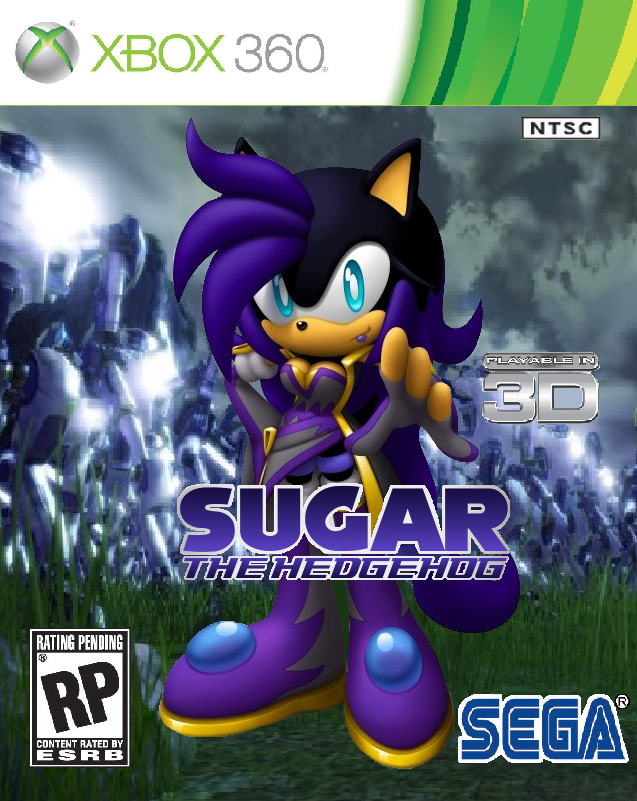 Xbox 360 Games 2012 : Sugar the hedgehog game xbox by hypershadow on