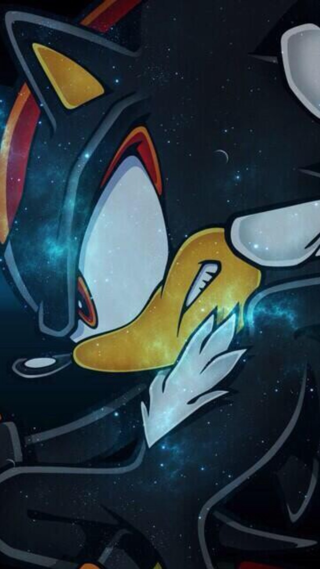 Shadow The Hedgehog IPhone 5 Wallpaper By HyperShadow92