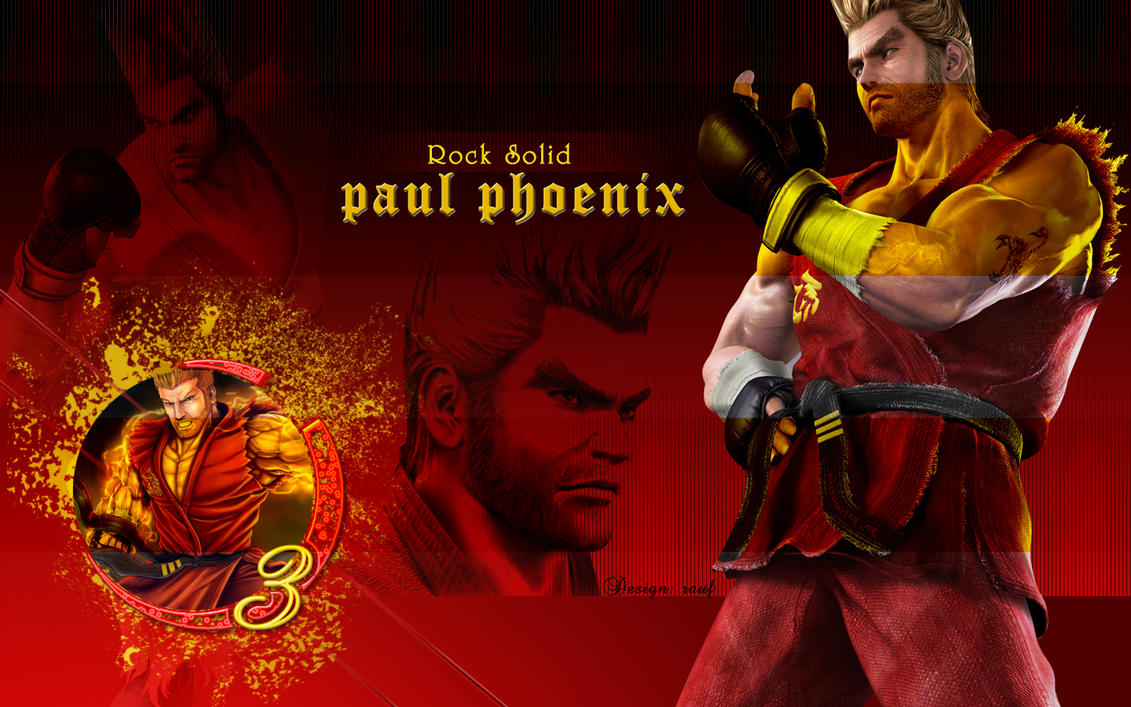 Paul Phoenix for Pual lovers by w3soul