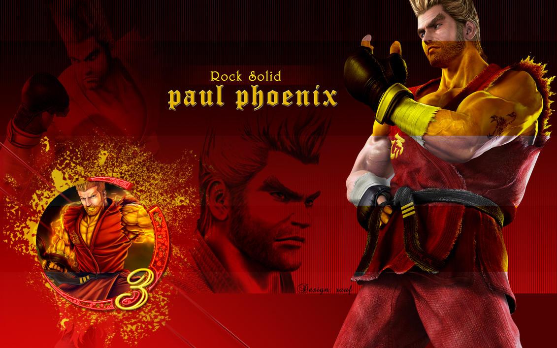 Paul Phoenix for Pual lovers by w3soul