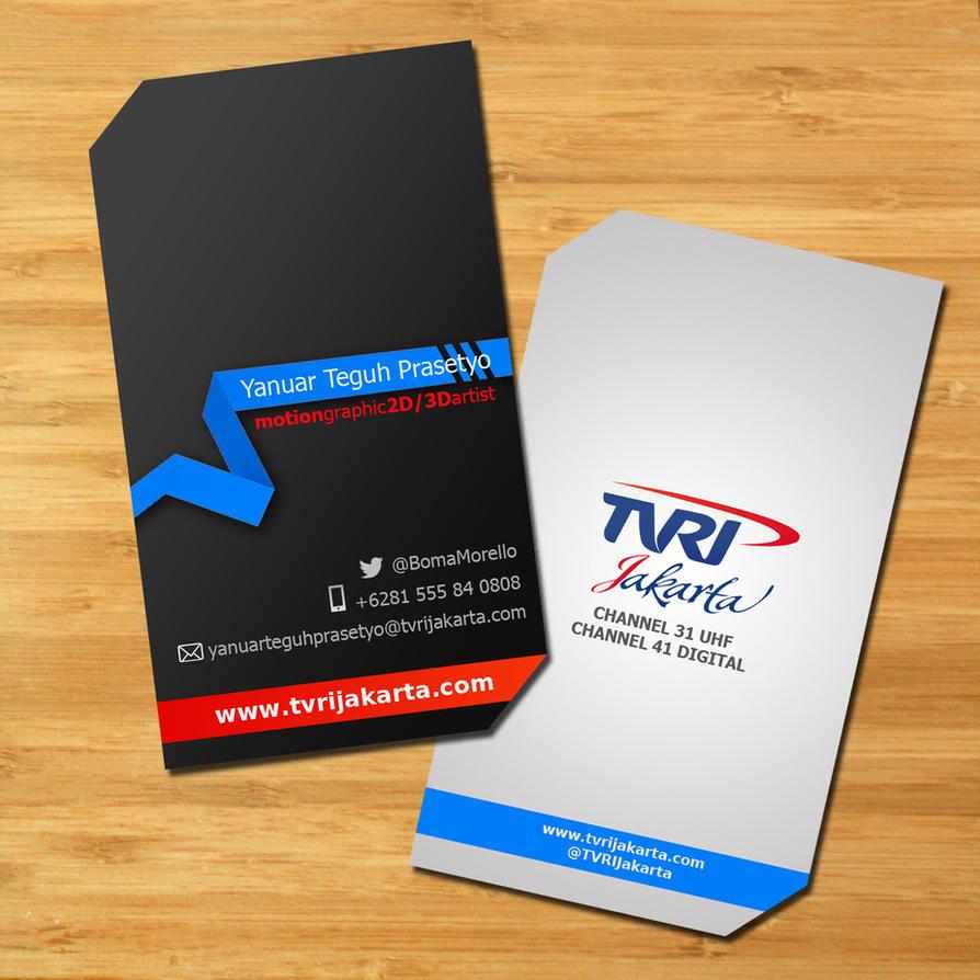 TVRI Jakarta Business Card by yanuarteguh on DeviantArt