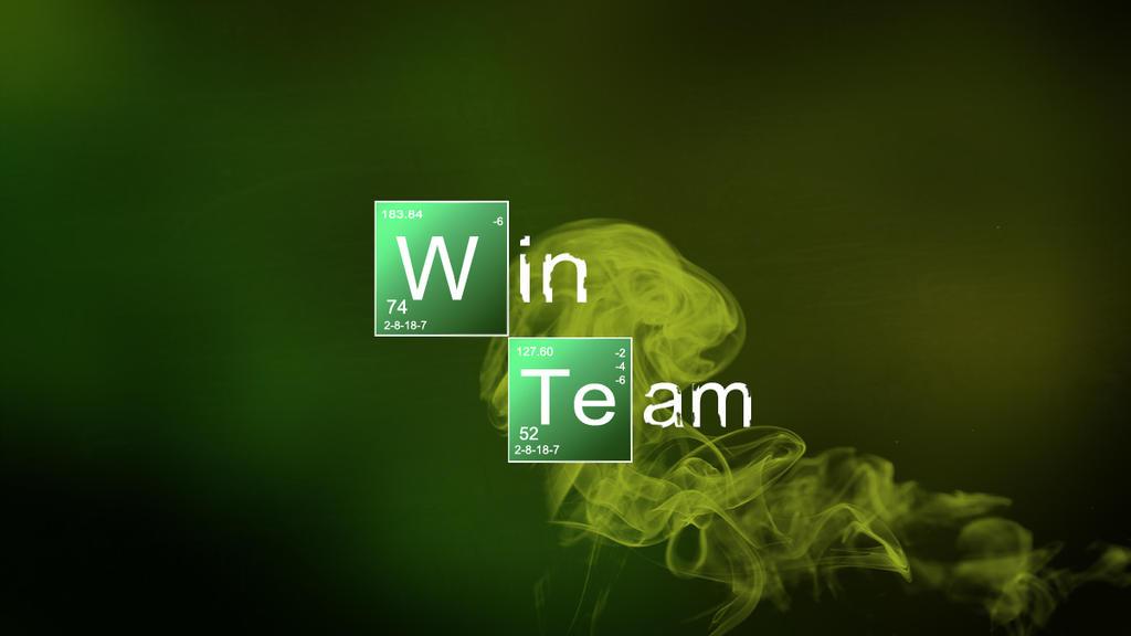 Breaking Bad Logo Breaking Bad Logo - Win Team