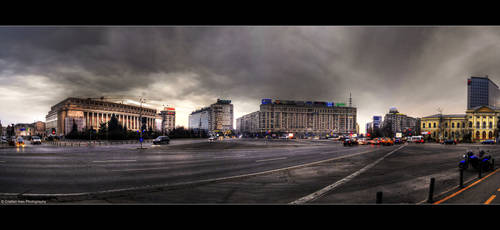 Center of Bucharest by joanchris