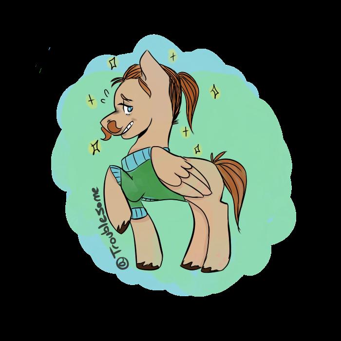 Fabulous Troublesome Pony by CloudDropz