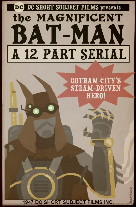 Steampunk Batman Hartter