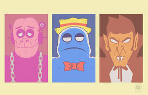 Cereal Monsters by Hartter