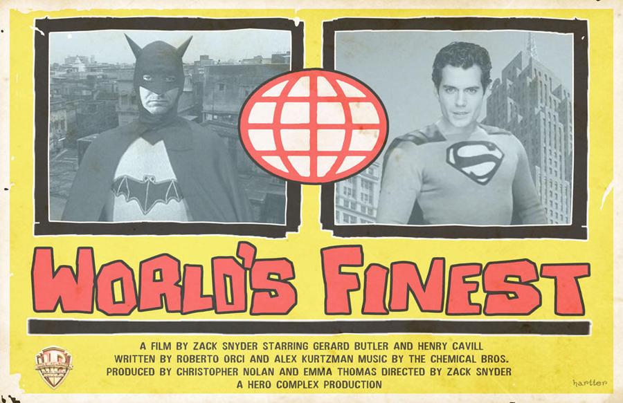 World's Finest Zack Snyder by Hartter