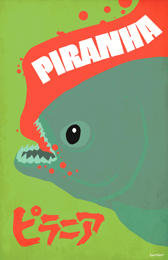 Piranha by Hartter