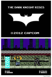 The Dark Knight Rises NES by Hartter
