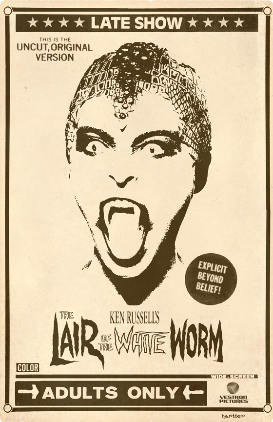The Lair Of The White Worm by Hartter