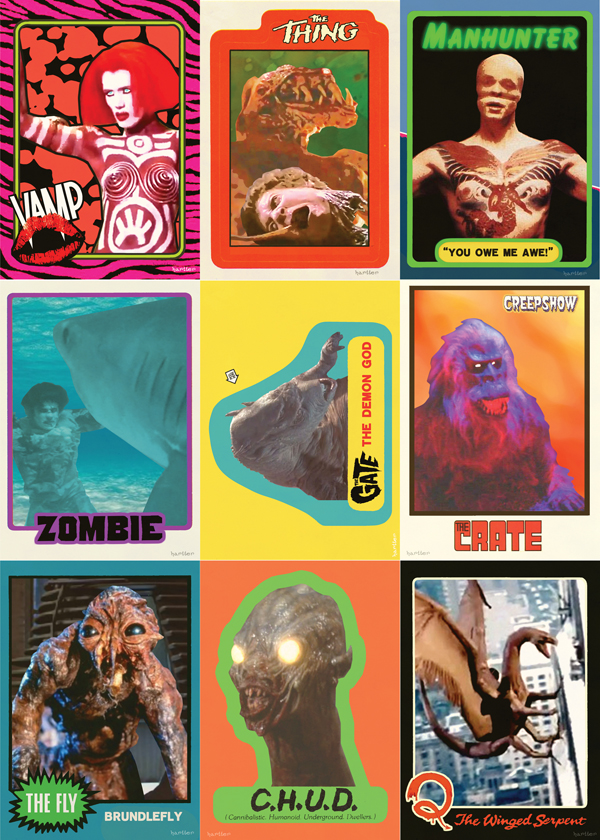 80's Movie Trading Cards by Hartter