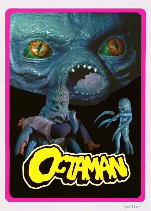 Octaman Trading Card Hartter by Hartter