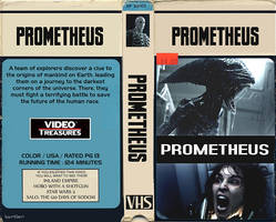 Prometheus VHS Box