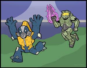 HALO: Grunt and Spartan