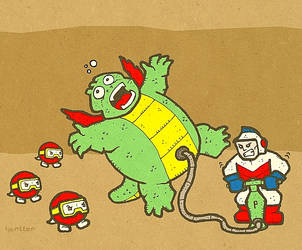 Dig Dug by Hartter