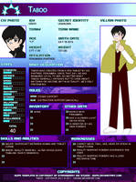 Taboo - Updated Profile by Vibiana