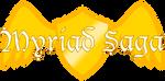 Myriad Saga Logo by Vibiana