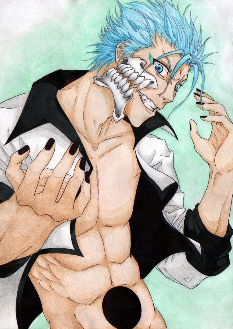 Grimmjow by Silvera-chan