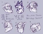 YCH canine and feline   AUCTION   OPEN 4/6 by LireiSmoke
