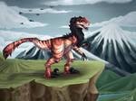 Ych raptor finished by LireiSmoke