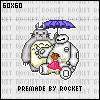 Totoro, Baymax and Mei by KorueSenpai
