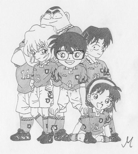 Squadra dei Giovani Detective by Yuichan90