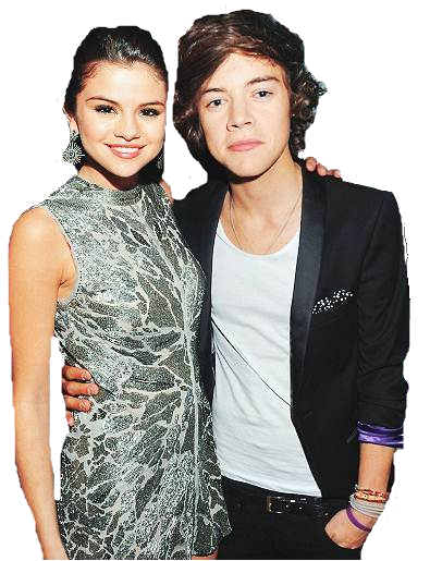 Selena Gomez and Harry styles PNG by Zpul on DeviantArt