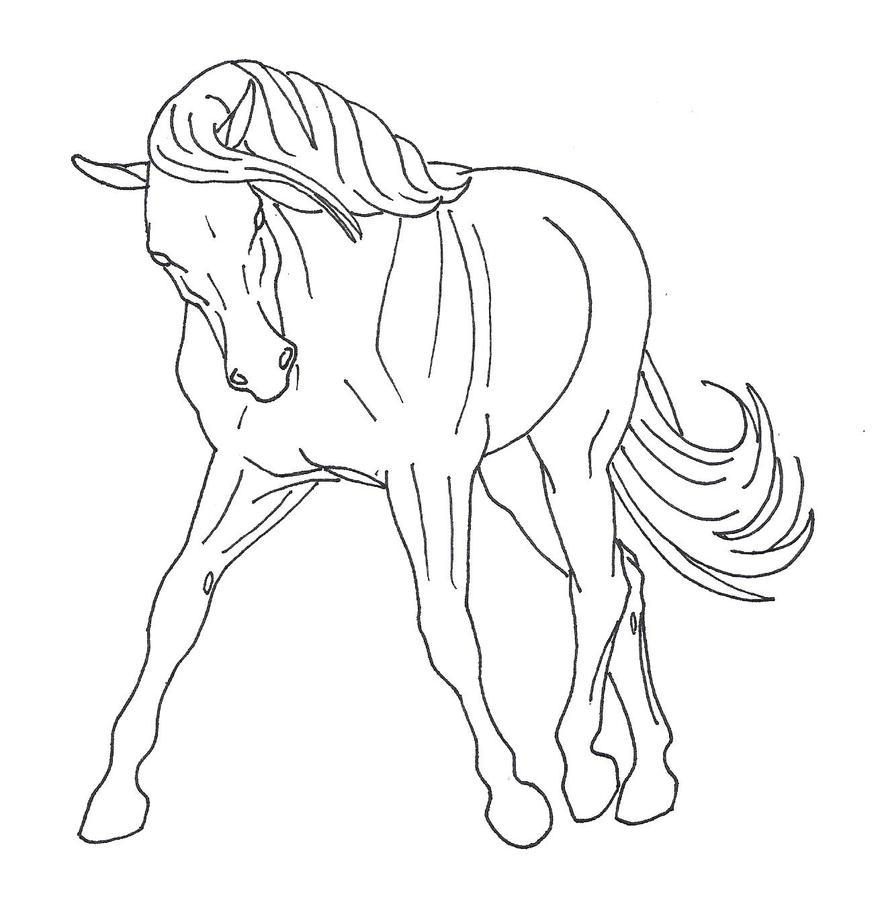 Trotting Horse by EllieMurray on deviantART