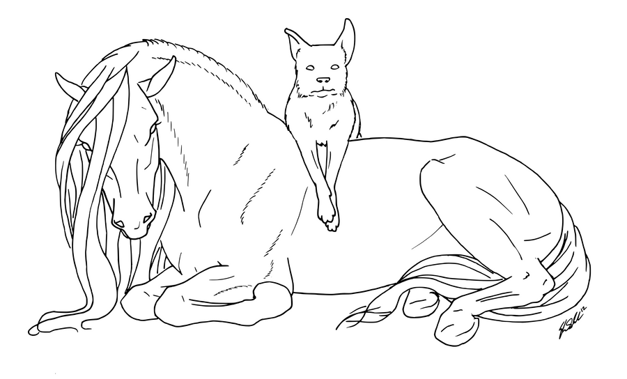 Pferde besides Horse And GSD Lines 278753423 likewise Dolphin Coloring Pages further Warrior Cat Bases 126788258 in addition Realistic Coloring Pages Of Cats. on dog coloring pages that look real
