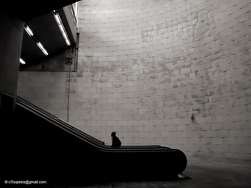 Escalators into Light by oToupeira