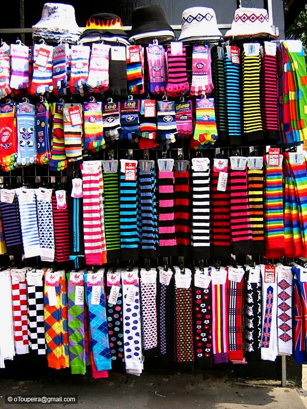 London: Portobello Mrket Socks by oToupeira