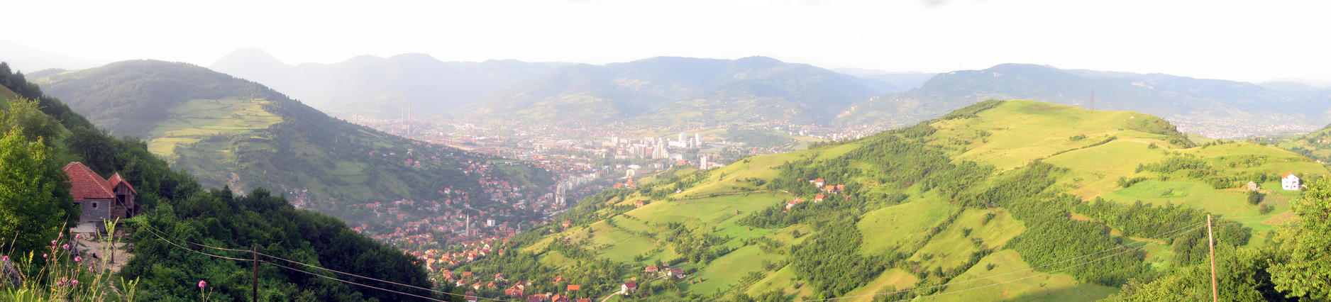 Zenica panorama by Medo145