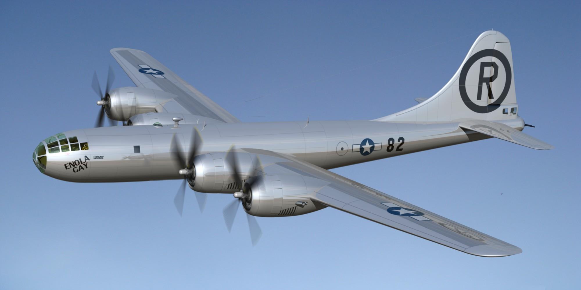Enola Gay Airplane 120