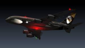 Airbus 380 Etihad