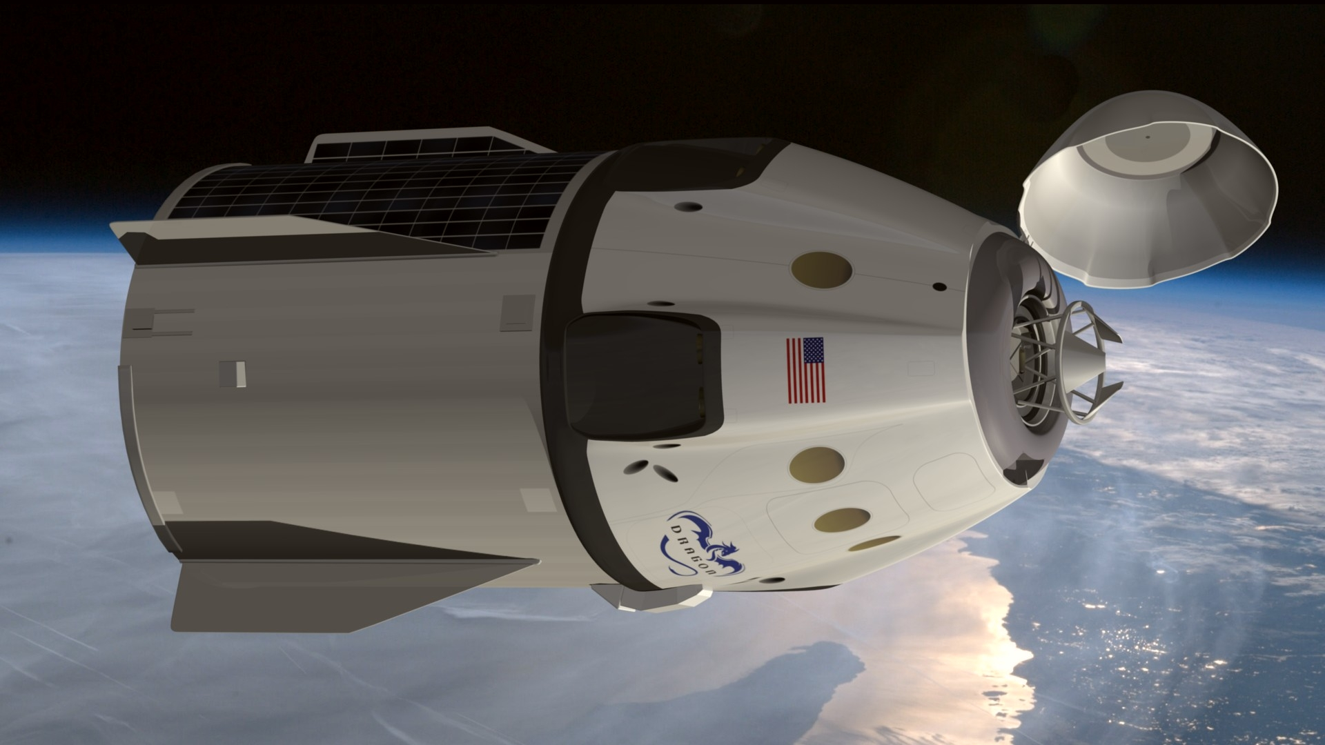 SpaceX Dragon V2 by Emigepa on DeviantArt
