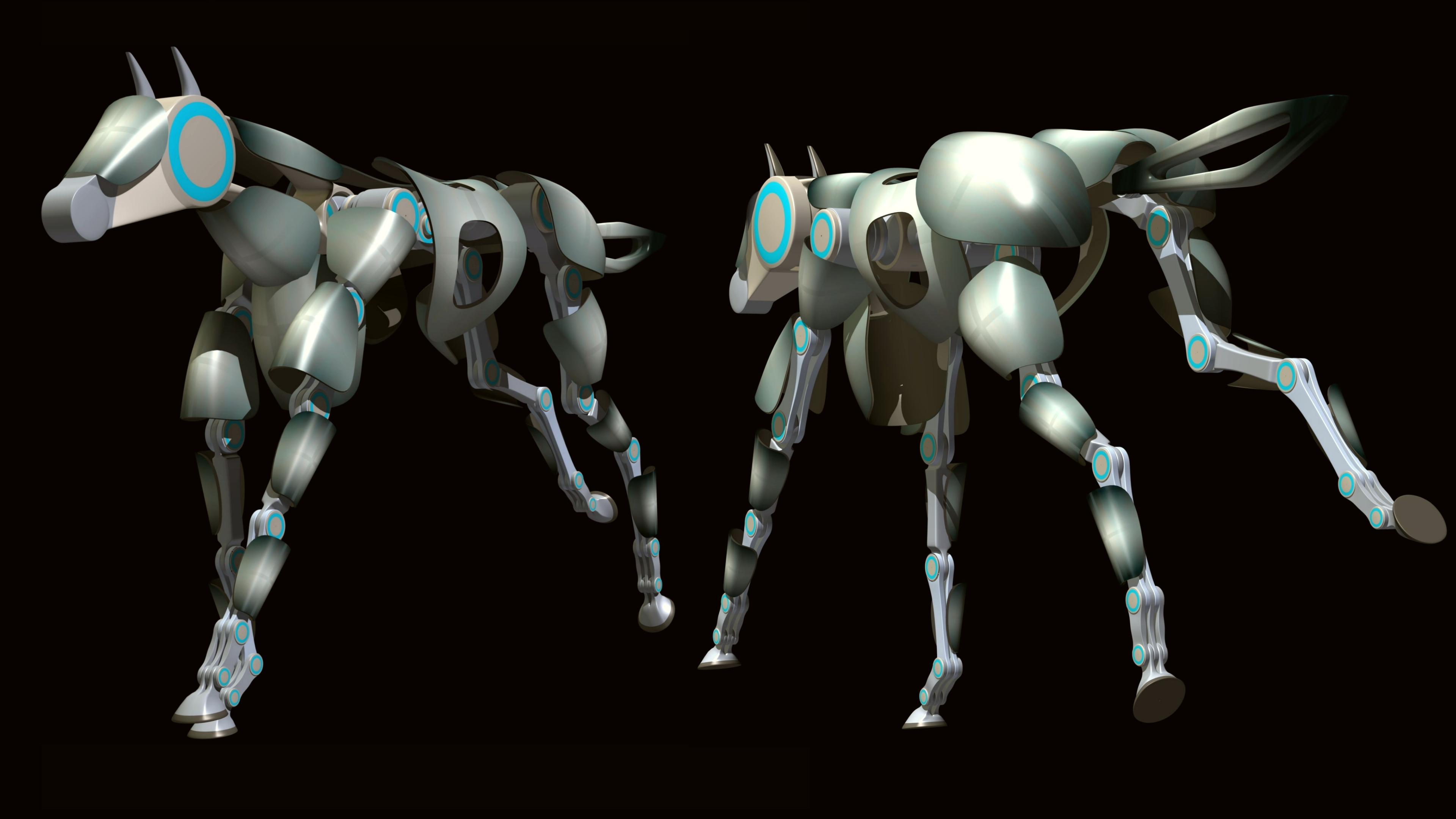 Deviantarts Robot Horse: Robotic Horse By Emigepa On DeviantArt