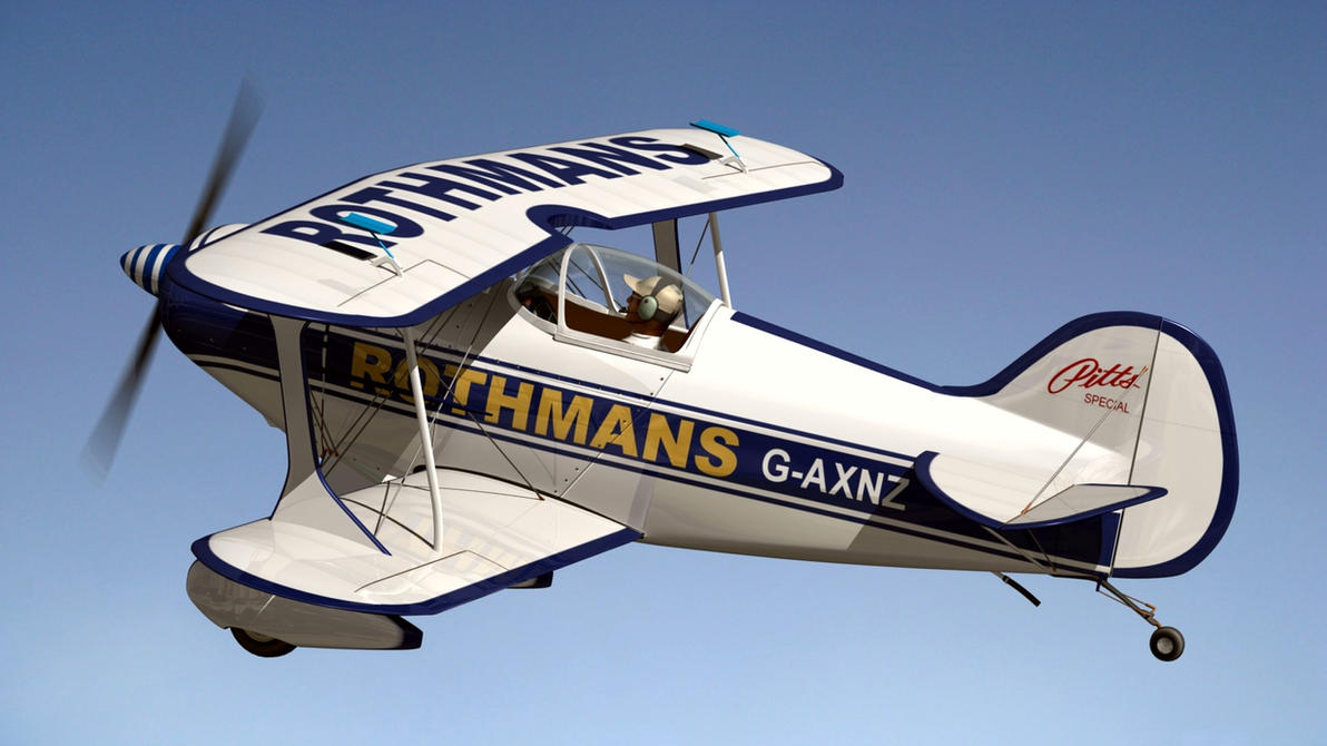 Pitts S1 Special Rothmans by Emigepa
