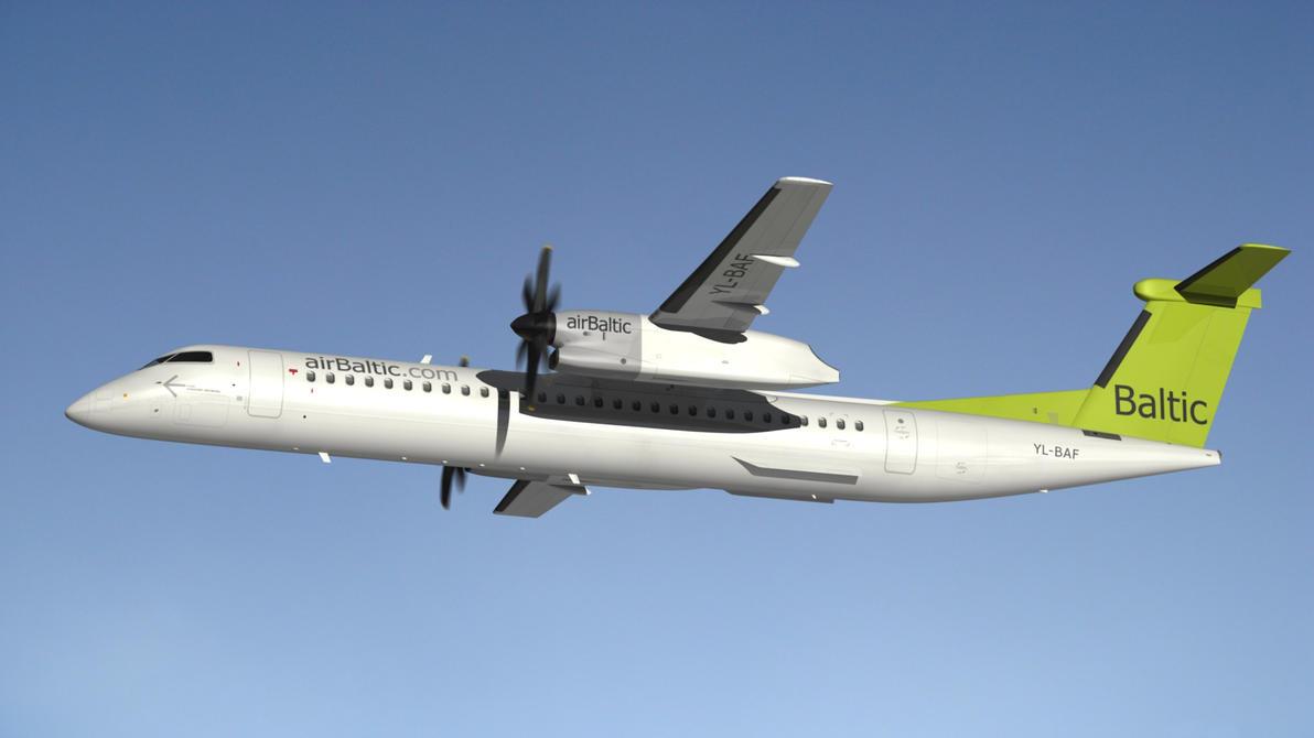 Bombardier Dash 8 by Emigepa