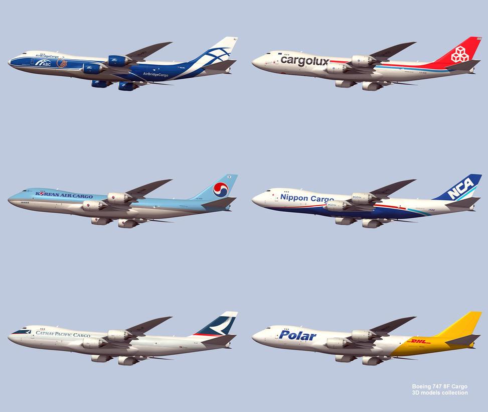 Boeing 747 8F Cargo by Emigepa