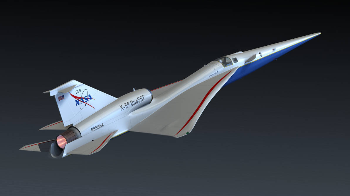 نتيجة بحث الصور عن Aircraft-NASA X-59