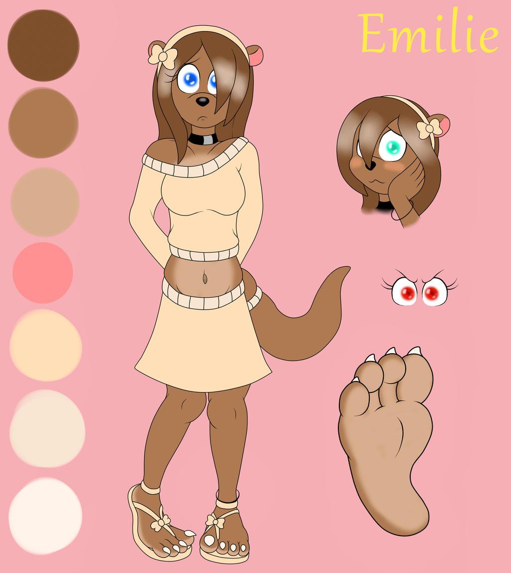 Emilie OC Sheet by BuddytheSketcher