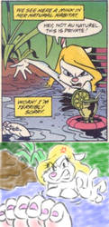 Angry Mink Bath Remake by BuddytheSketcher